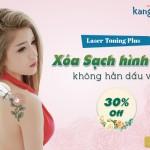 Khuyến mãi chào hè xóa bỏ hình xăm nhận ngay ưu đãi 30% – CN Laser Toning Plus