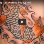 99 hình xăm cá chép hóa rồng, cá chép vượt vũ môn đẹp và ý nghĩa 2017