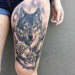 Ý nghĩa ẩn sau những hình xăm chó sói mạnh mẽ