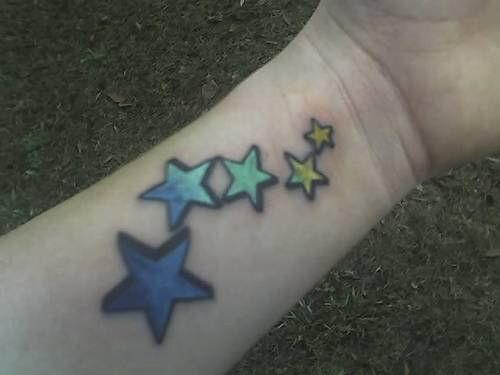 hình xăm ngôi sao 5 cánh