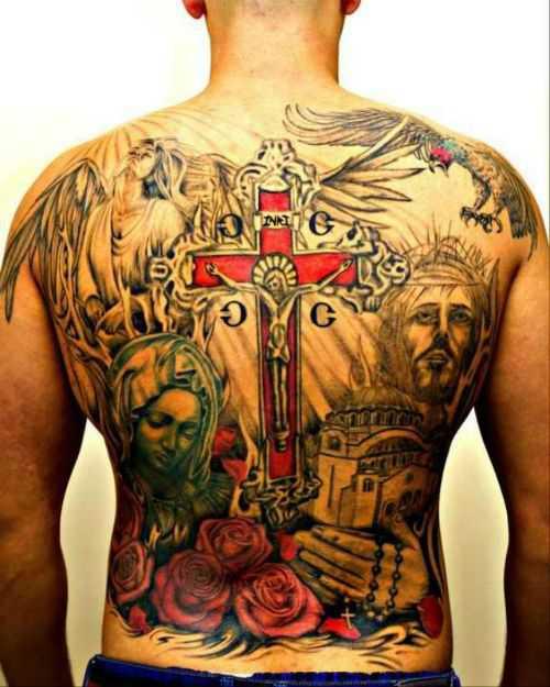 Hình xăm tôn giáo 3